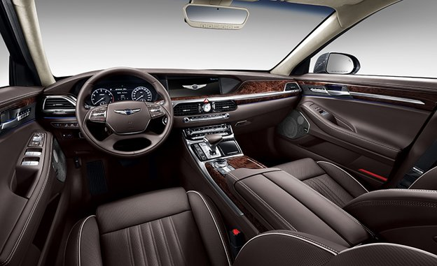 Hyundai G90 Sedan 2017