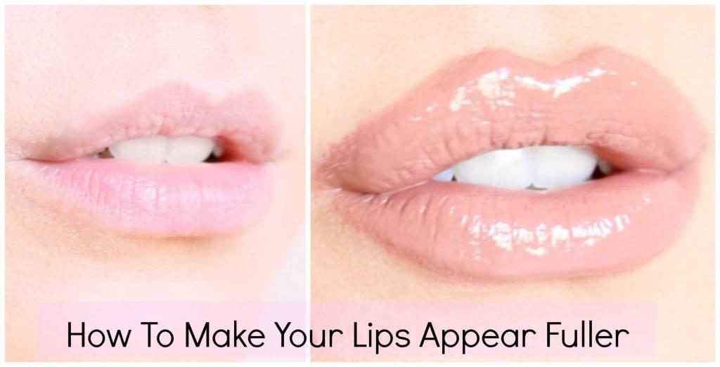 how to make upper lip look fuller