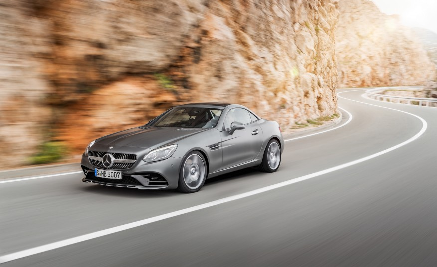 Mercedes Benz SLC 2017