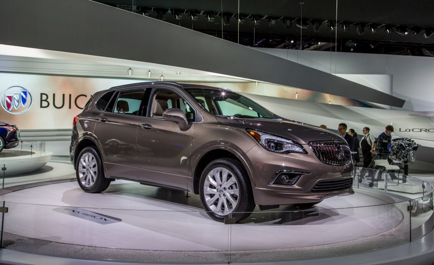 buick envision 2016 the company s third crossover all in all news. Black Bedroom Furniture Sets. Home Design Ideas