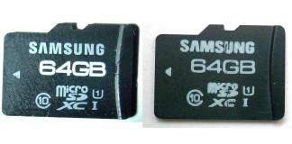 Identify Genuine MicroSD Cards from Fake Ones