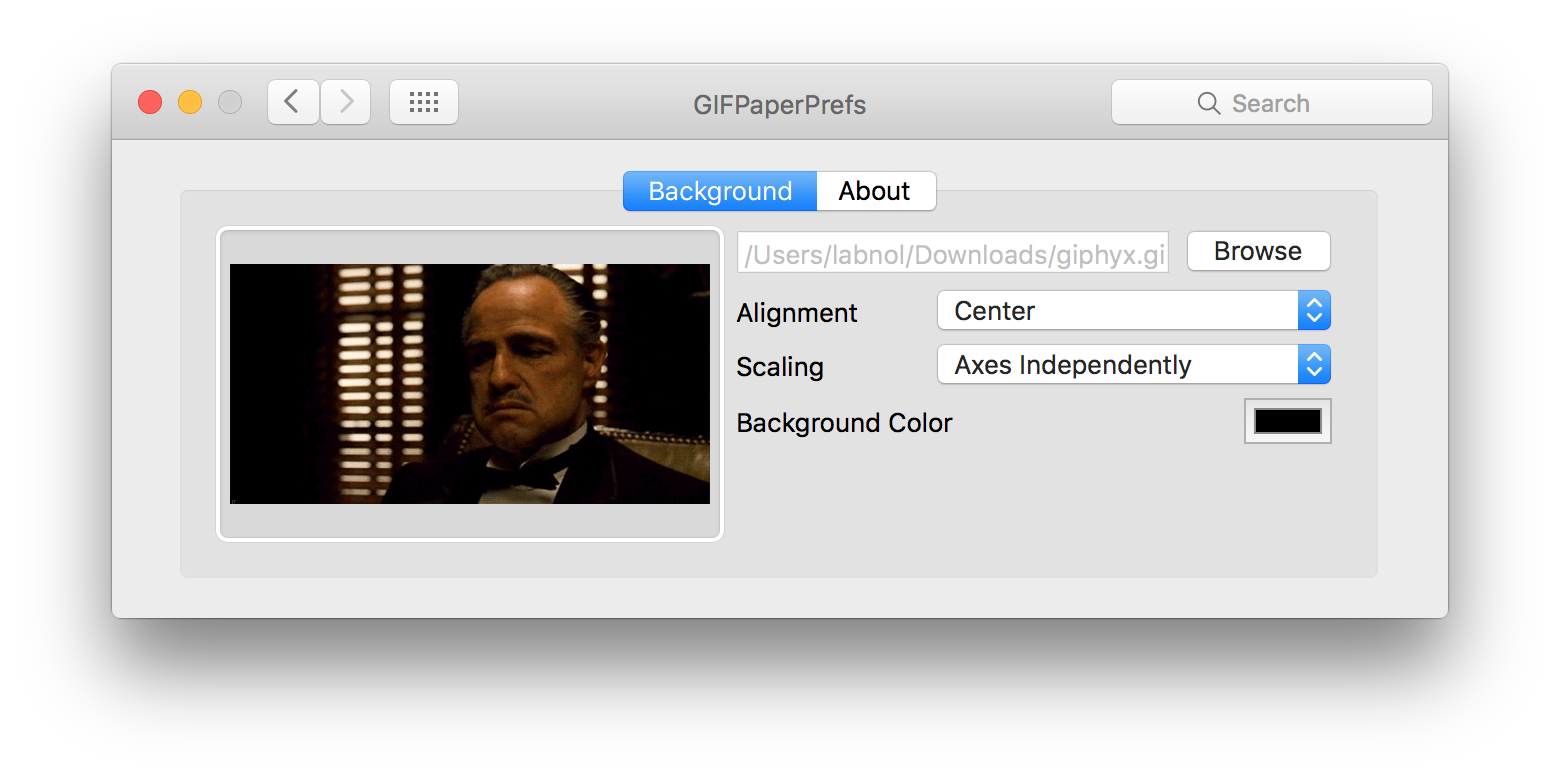 Animated GIF Images as Wallpaper to Your Mac Device
