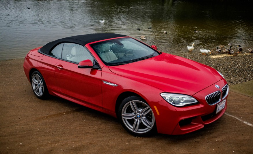 BMW 640i Convertible 2016