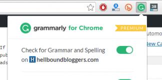 Grammarly for Google Chrome