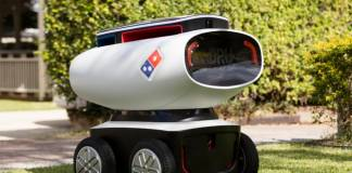 Domino Now Employs Robots in their Chain Deliveries