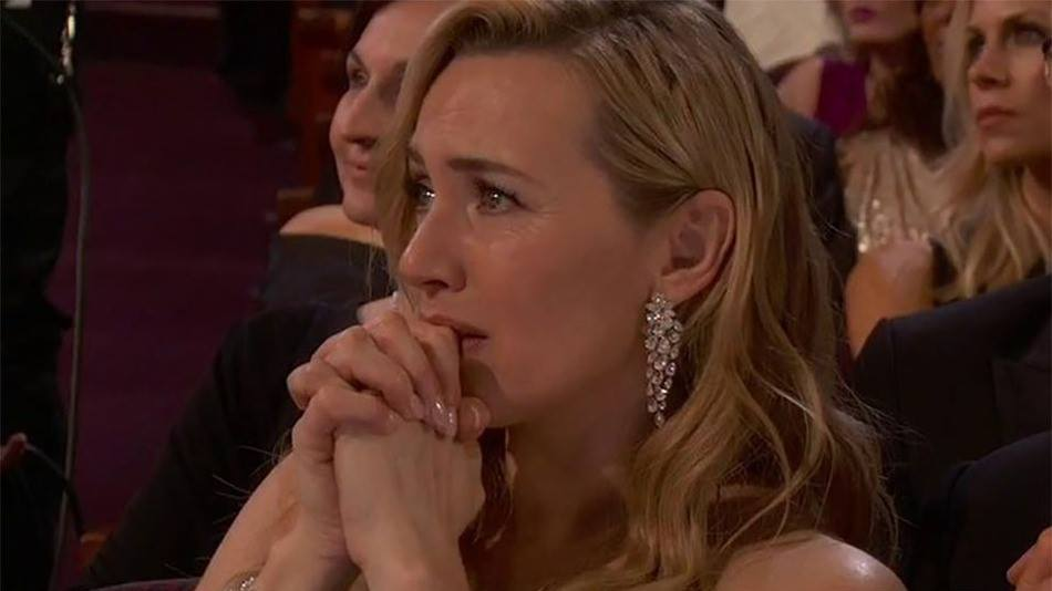 Kate Winslet Oscar Reaction