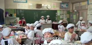 Lunch Time Experience in a Japanese School