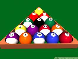 Rack Pool or Billiard Balls