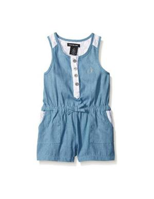 Calvin Klein Light Denim Romper