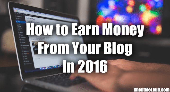 Hard to Earn Money from Blogging