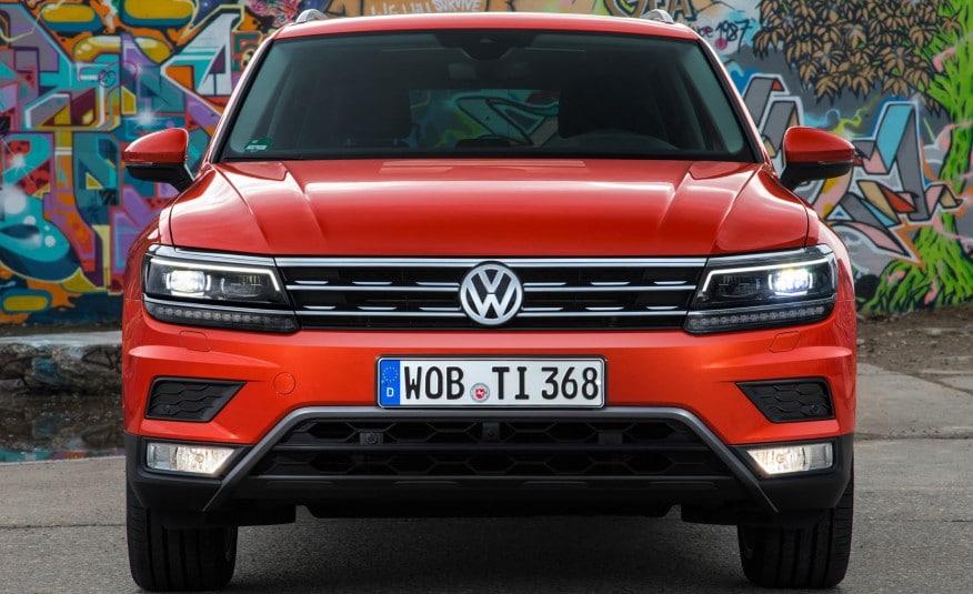 Volkswagen Tiguan 2017 Euro