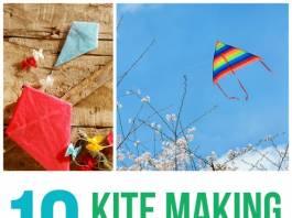 Flying Kite with Your Kids