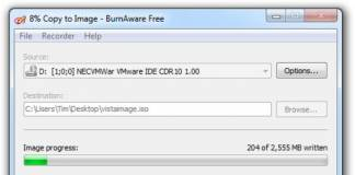 Create ISO Images from your Own CD or DVD