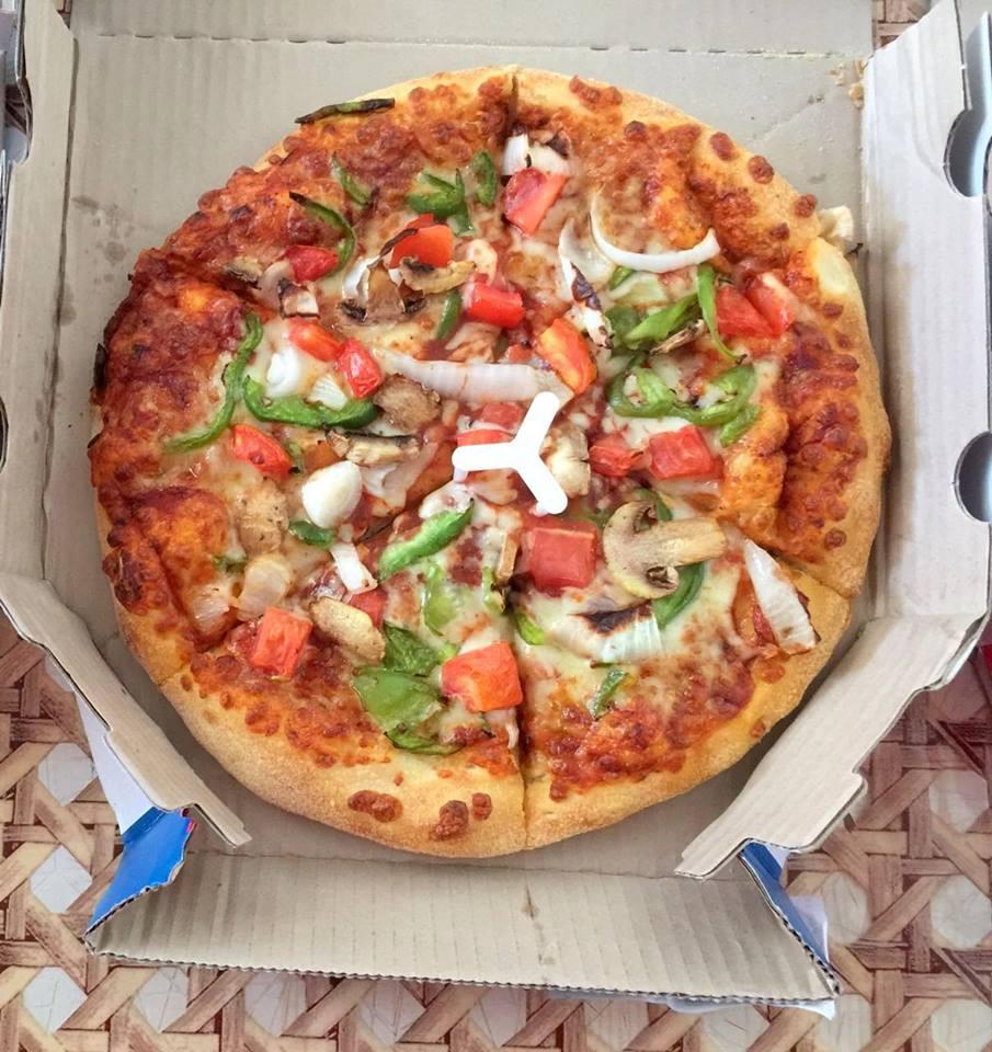 Dominos Farmhouse Pizza